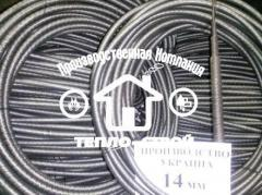 Sanitary cable flexible shaf