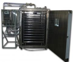 Industrial drying cabine