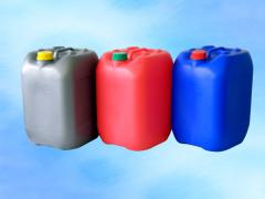The canister from plastic