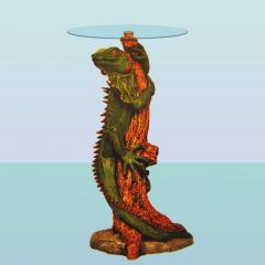 Стеклянный столик Игуана (А)