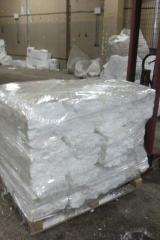 The compacted expanded polystyrene