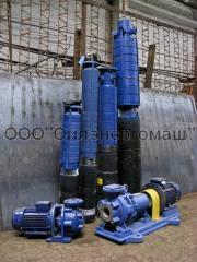 Submersible pumps of Etsv.Proizvodstvo, sale,