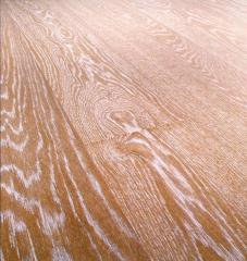 3-layer Board of a floor from an oak, an ash-tree,