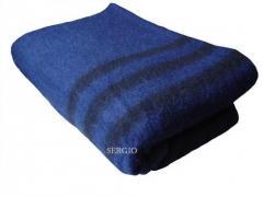 Одеяло солдатское полушерстяное