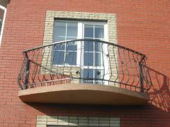 Балконные металлические ограждения
