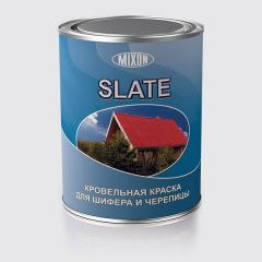 Фарба для шиферу й черепици SLATE коричнева 0.7 л