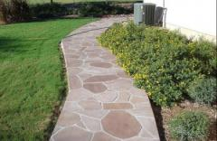 Paths are garden decorative