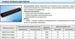 Tubes thermoshrinkable MWTM