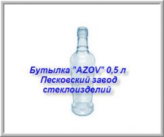 Bottle of AZOV of 0,5 l, Kiev