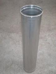 Flue pipe from stainless steel