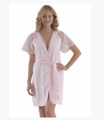 Женские халаты Pirilty Soft Cotton (розовый)