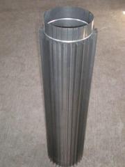 Труба-радиатор дымовая для каминов