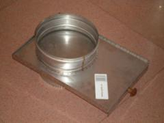 Shiber of a flue, stainless steel