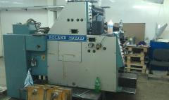 Offset two-colourful ROLAND 202 TOV printing