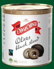 Olives cut 3000 g (h6)