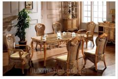 Lunch set from a natural rattan of RF-5022