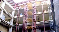 Frameworks of buildings metal