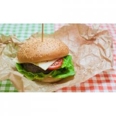 Embalaje para una hamburguesa