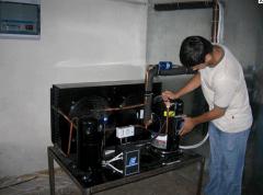 The refrigeration unit on 'Boguslavsky