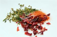 Paprika red powder. Wholesale spices, herbs,