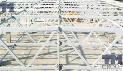 Timbering for monolithic construction from the