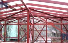 Beams of coverings and overlappings, welded beams