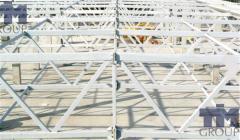 Frameworks for greenhouses.