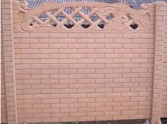 Элитный забор под мрамор