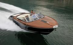 We make boats under the motor, wooden, plywood