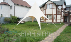 Shield Tent for presentations and catering