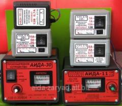 Устройства зарядные и пусковые  для 12 и 24В АКБ