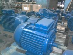 Electric motors common industrial 55 kW 1500 RPM