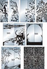 Зеркало с декоративной отделкой 562-574