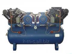 Поршневой компрессор ЭПКУ 2,5/12-800 на ресивере 800л.