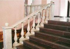 Balustrade handrail: equal radial 1750*200*70