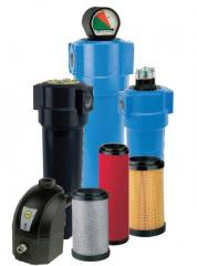 Filters of compressed air