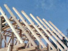 Rafters wooden, rafters for roofs, rafters from