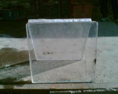 Plexiglas block