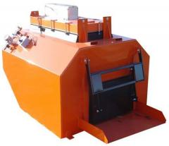 Asphalt processing machine