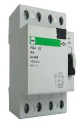 Relay of protective switching off of ECO RZV-4 4P