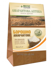 Whole-wheat Amarantovy flour.
