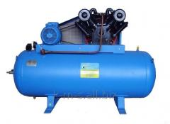 Piston compressor EPKU 1,3/12-500