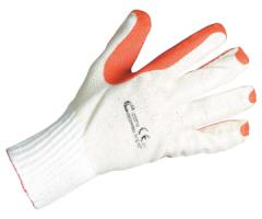 Gloves x / covered with the vulcanized latex