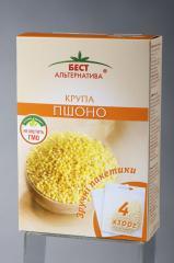 Millet, grain portion, packaging of 4*100 g / TM