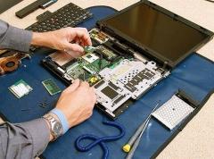 Чистка ноутбука від пилюки, із заміною термопасти та смазкою кулера