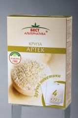 Wheat groats Artek of portion 4*70 g / TM of Best