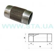 Keg of steel 32 mm of GOST 8969-75