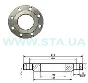 Flange of fine-molded steel 100 mm of Ru10 of GOST