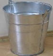 Buckets are galvanized