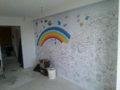 Wall-paper coloring